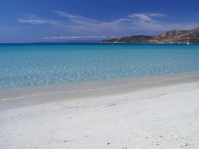 Vacanza in Sardegna - meravigliosa spiaggia a Villasimius