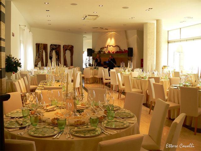 Restaurant -  Tarthesh Hotel -  Guspini - Sardinië - Foto