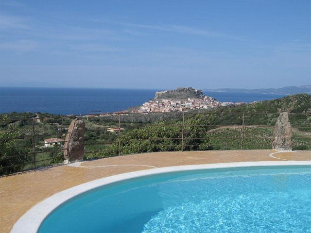 Zwembad - Hotel Bajaloglia - Castelsardo - Sardinië