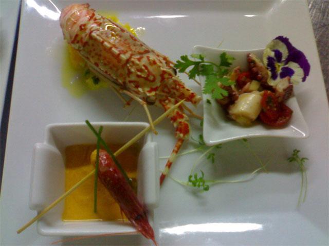 Heerlijk gerechten in Restaurant Don Diego - Porto San Paolo