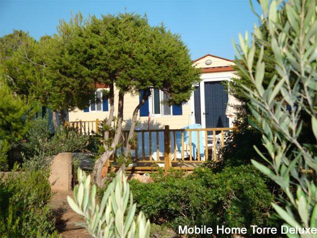 Vakantie Sardinie - Mobile homes Deluxe - Sardinia4all