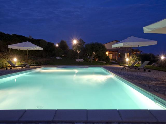 Zwembad Borgo - Podere Monte Sixeri - Alghero - Sardinië