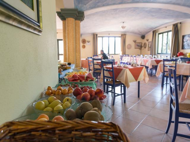 Pizzeria - Hotel Su Lithu - Bitti - Sardinië