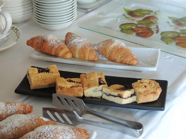 Su Lithu - Sardinie - ontbijt
