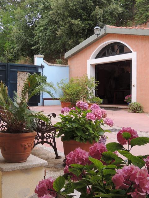 Omgeving hotel - Su Lithu - Sardinie