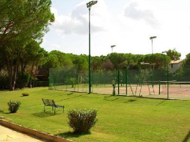 Tennisbaan - Cala Verde - S. Margherita - Sardinie